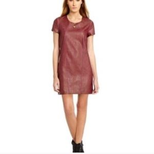 Buffalo David bitton faux leather shift Dress